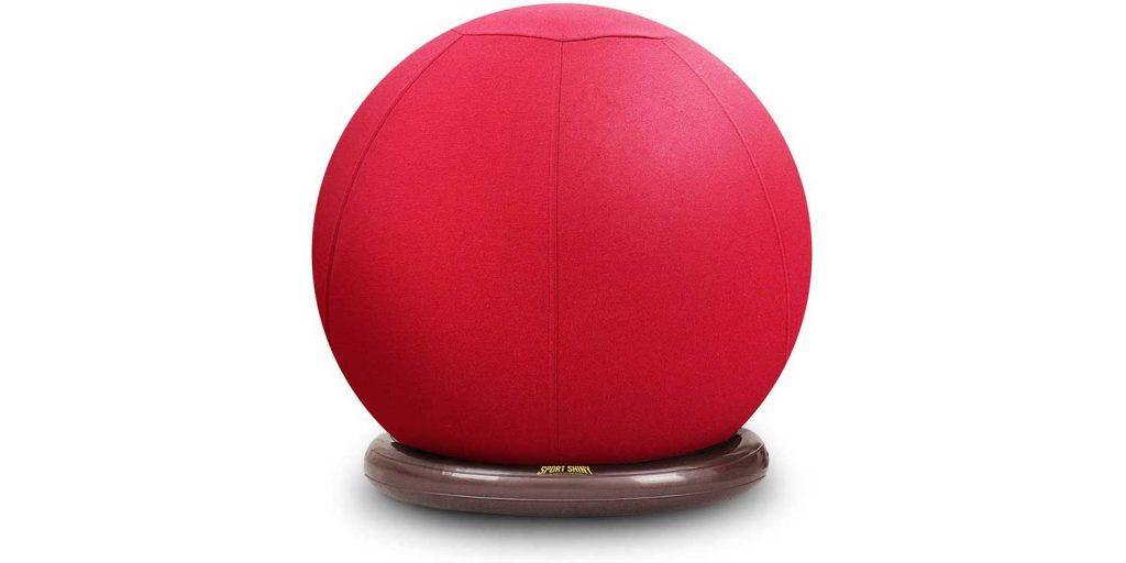 Sport Shiny Balance Ball Chair Junior