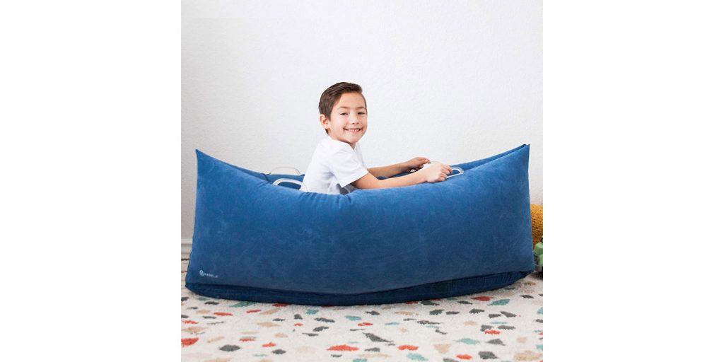 Harkla Hug Inflatable Sensory Peapod for Children with Sensory Needs