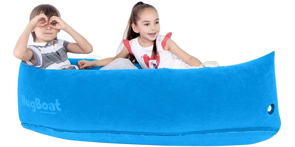 Special Supplies Inflatable Compression Boat Lounger for Kids